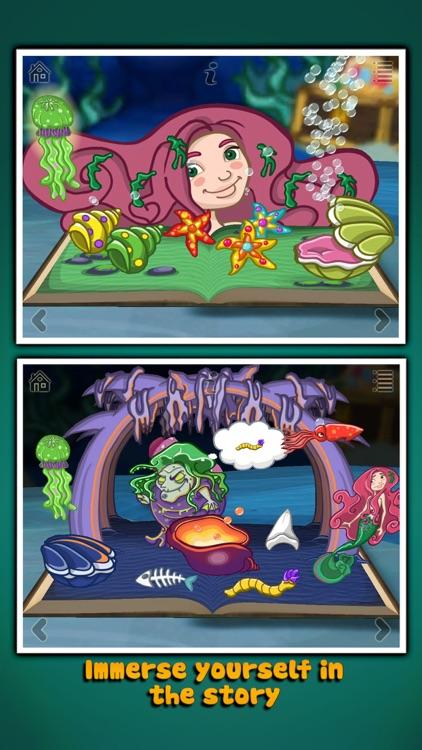The Little Mermaid ~ 3D Interactive Pop-up Book screenshot-4