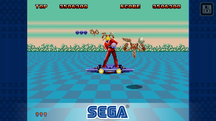 Space Harrier II Classic screenshot-2