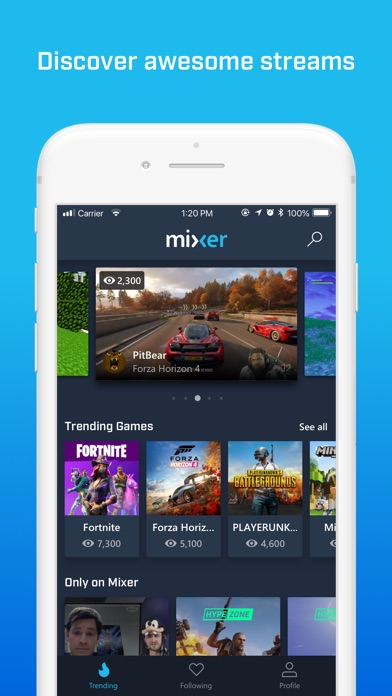 Download Mixer - Interactive Streaming for Pc