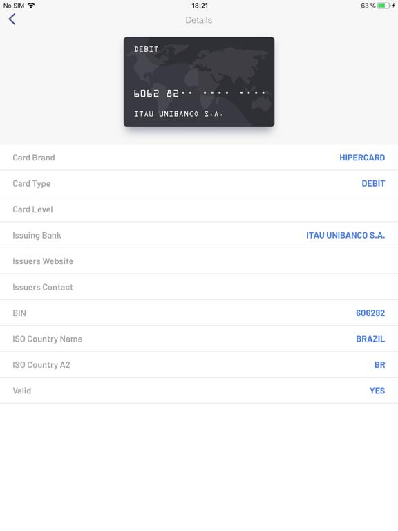 BIN Check: Credit Card Checker | App Price Drops