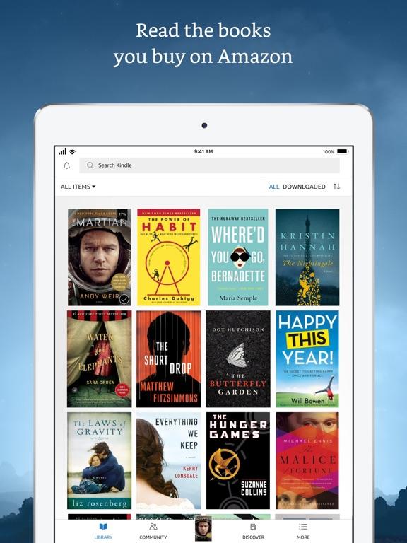 Amazon Kindle Скриншоты8