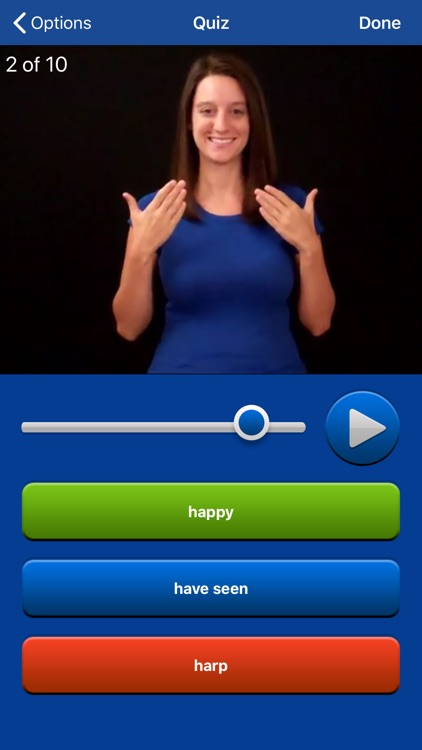 ASL Dictionary Sign Language screenshot-0