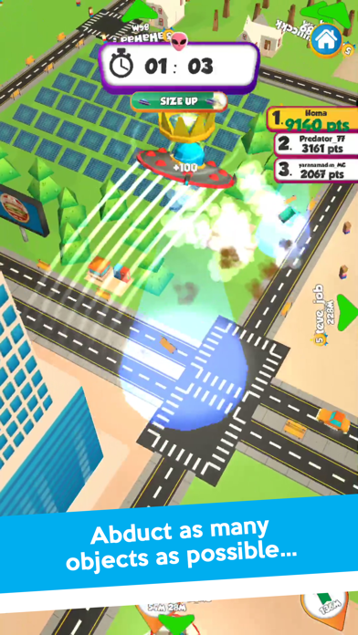 UFO.io:マルチプレイヤーゲームのおすすめ画像1