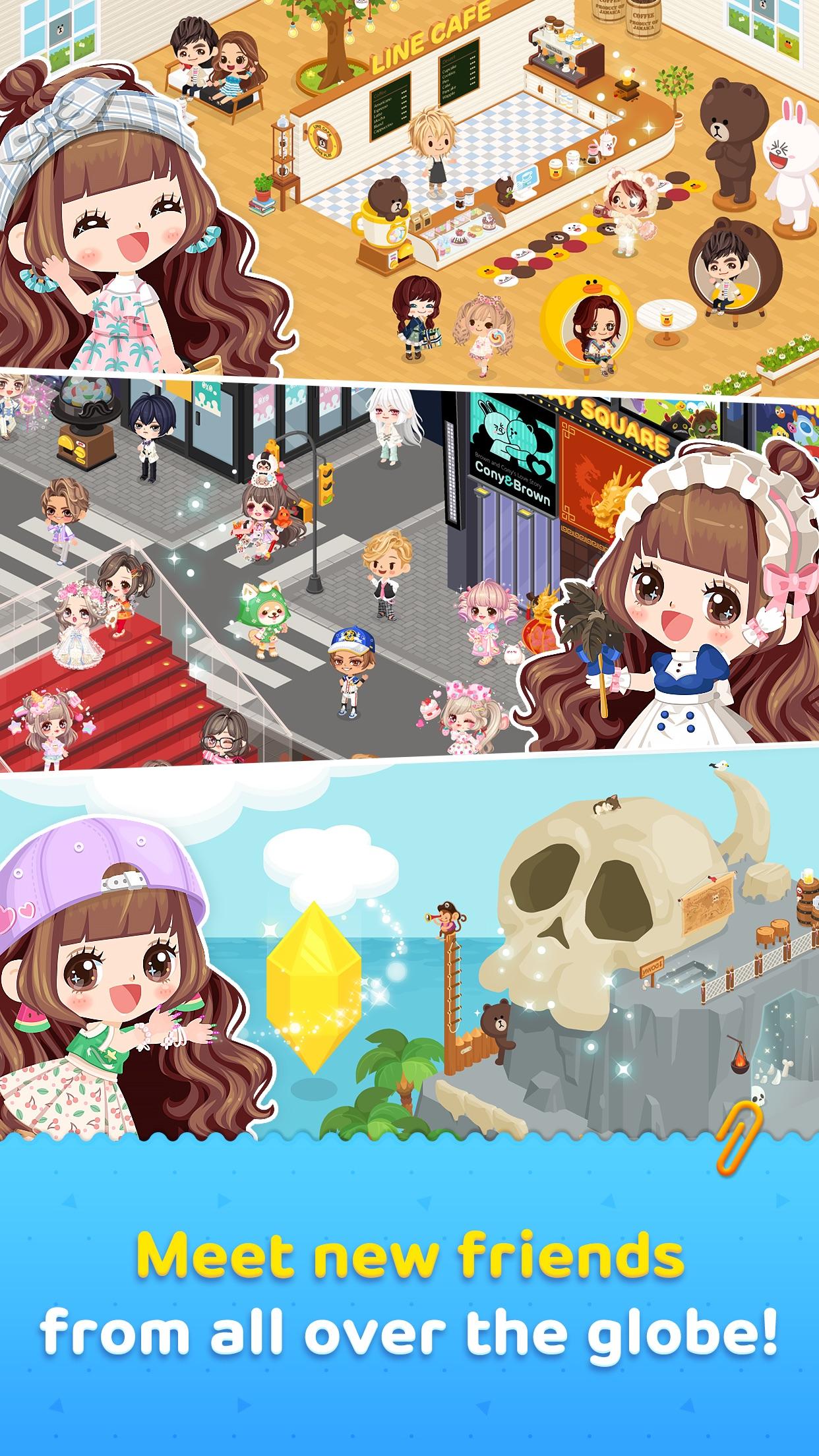 LINE PLAY - Our Avatar World Screenshot