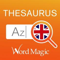 english thesaurus をapp storeで