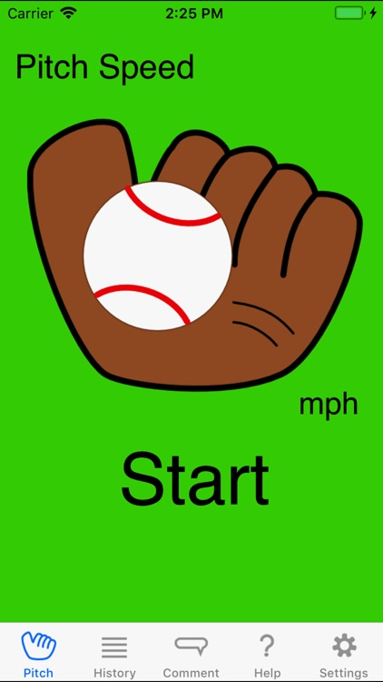 Pitch Speedometer