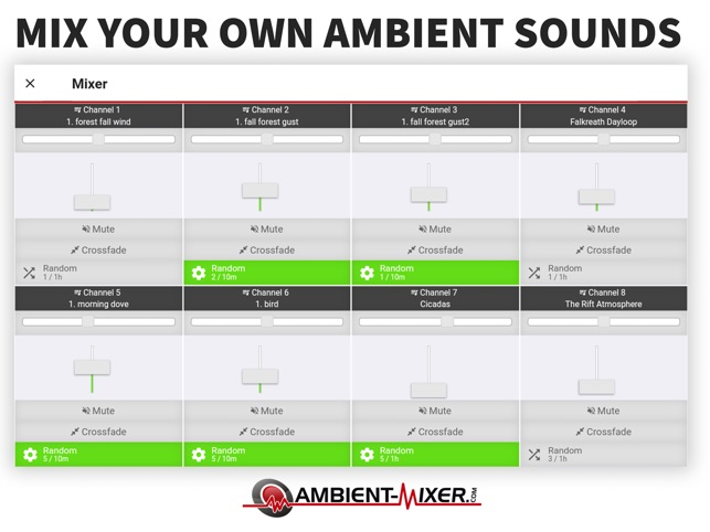 Ambient Mixer Music on the App Store