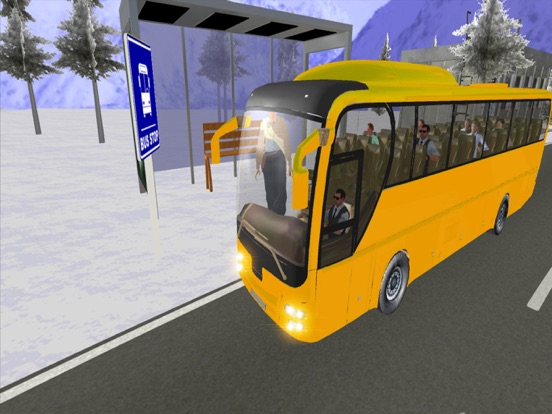 Hill Bus Driver 3d 2017 Mania screenshot 8