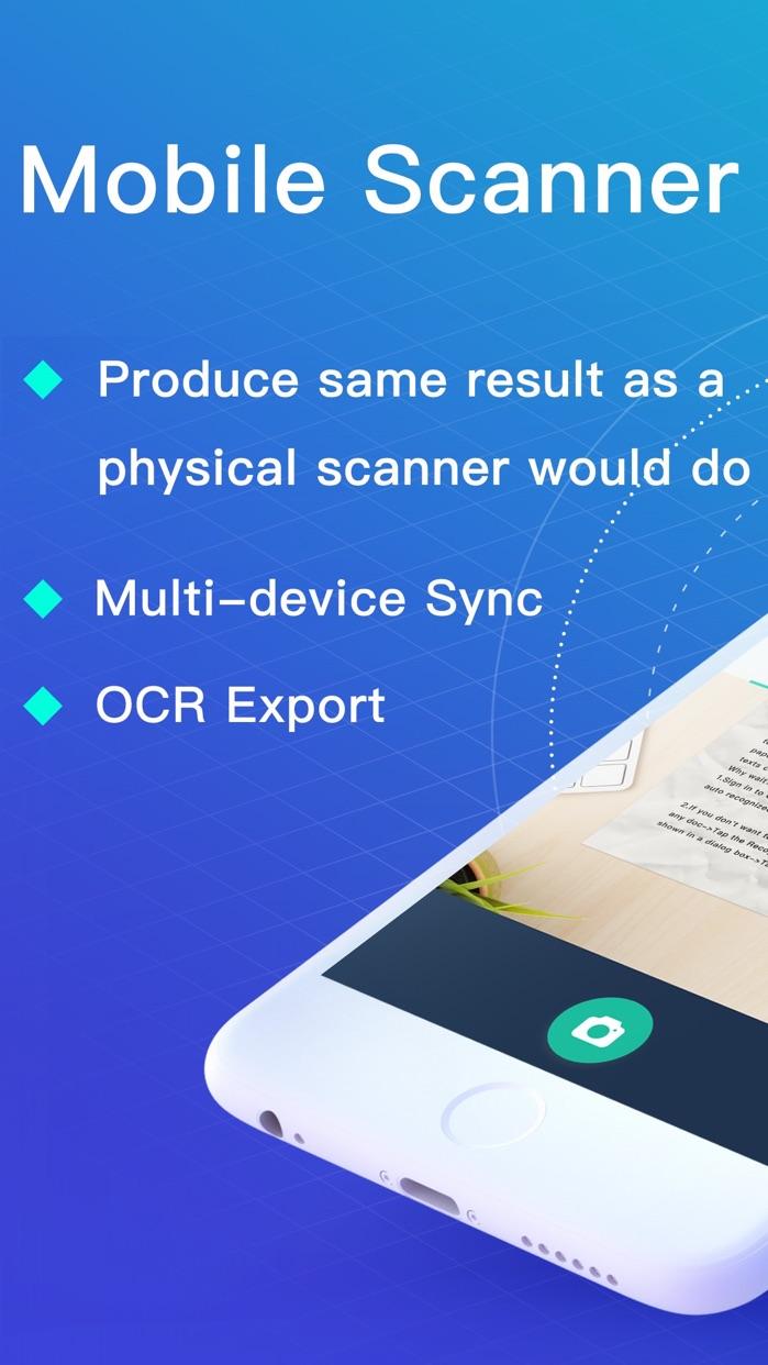 Camscanner|Document Scan & Fax Screenshot