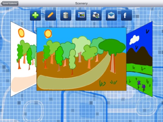 Paint Gallery screenshot