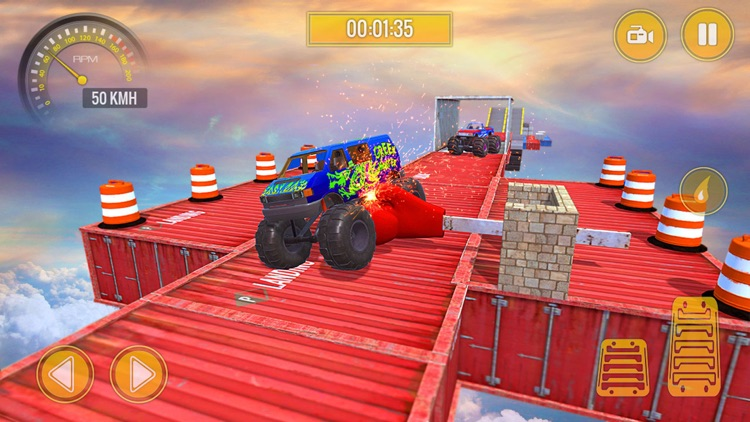 Monster Truck Stunts Challenge
