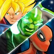 Superhero free fighting games avengers battle icon