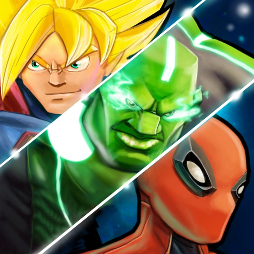 Superheroes Shadow Battle iOS App