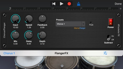 Flanger AUv3 Plugin screenshot 2