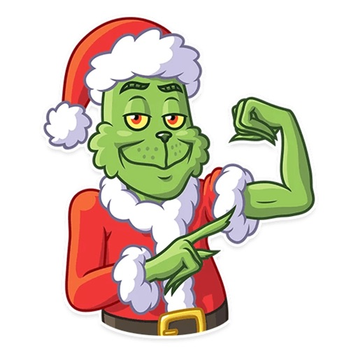 Christmas Funny Sticker 2019