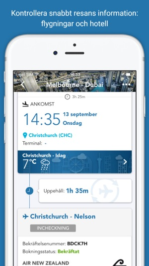 the latest iphone checkmytrip travel itinerary i app 13097