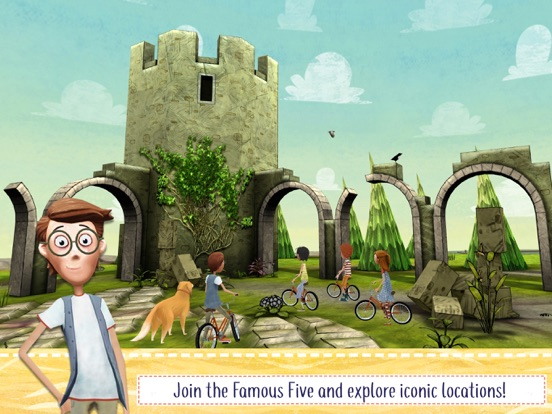 The Famous Five Adventure Game screenshot 1