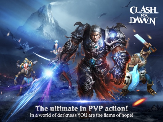 Clash For Dawn-3D PVP MMORPG на iPad