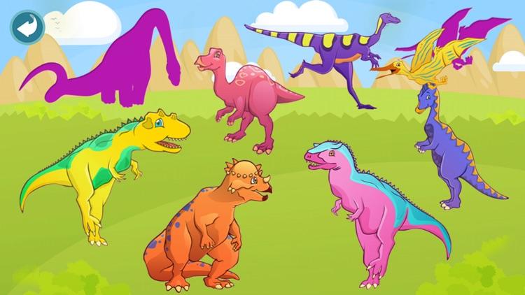 Dinosaur Puzzle Dino Game Kids
