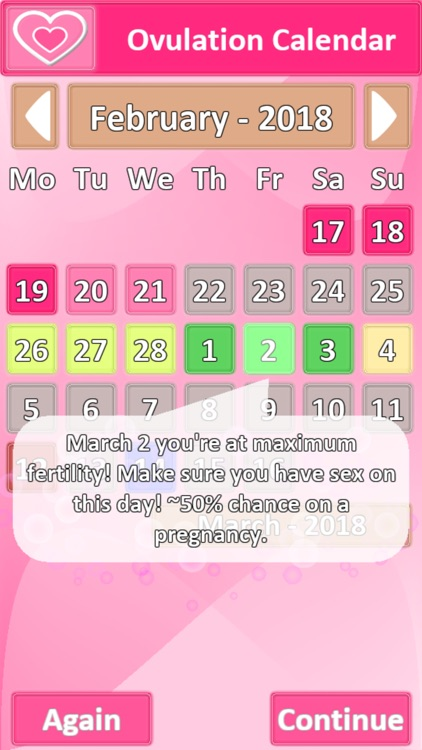 Ovulation Calendar screenshot-2