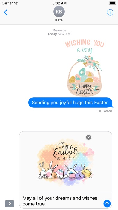 Hand Drawn Easter Day Stickers screenshot 5