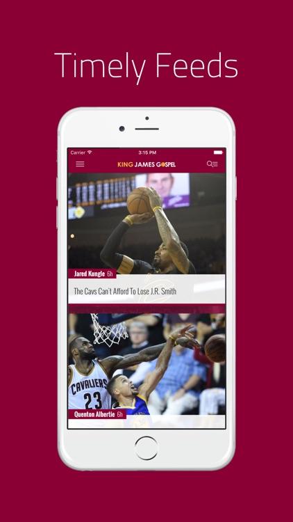 King James Gospel: News for Cleveland Cavs Fans