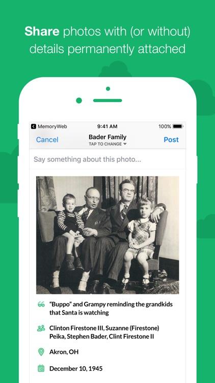 MemoryWeb – photo metadata app screenshot-3