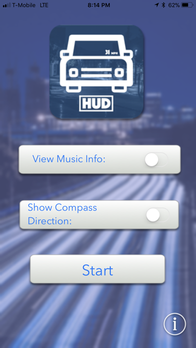 Mobile Heads Up Display (HUD) screenshot one