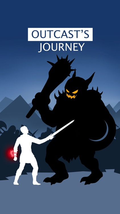 Outcast's Journey - Interactive fiction game
