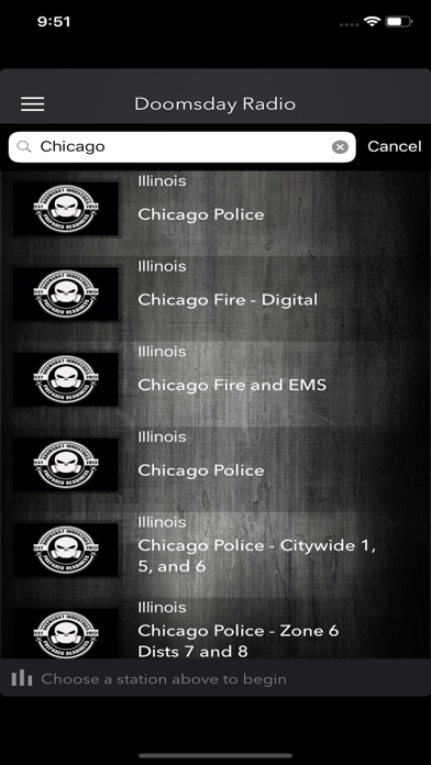 Doomsday Radio: Police Scanner Screenshots