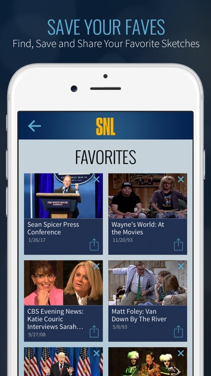 SNL: The Official Saturday Night Live App on NBC screenshot-3