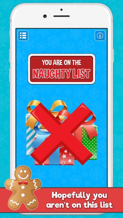 Santa's Naughty or Nice List screenshot-3