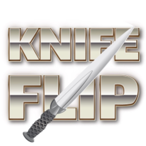 Knife Flip (with apple cut)