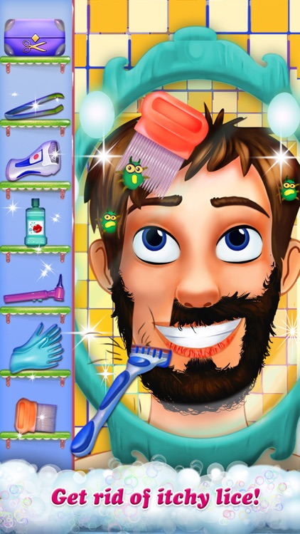 Hairy Face Makeover Salon screenshot-3