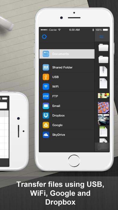 Documents Pro - Files Editor Screenshot on iOS