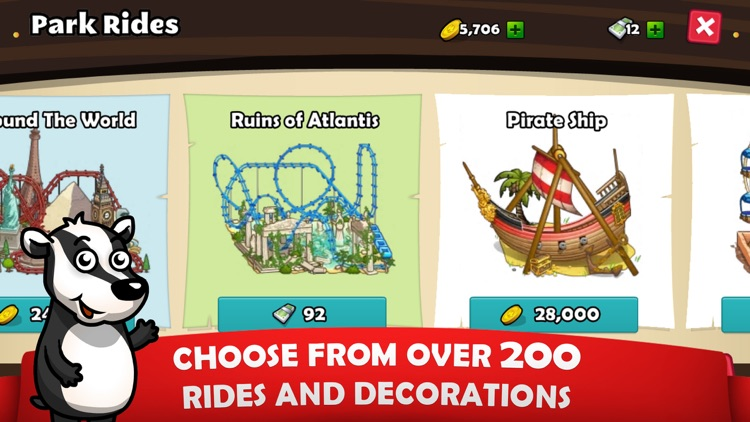 Rollercoaster Mania screenshot-1