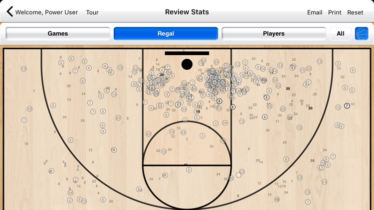 Basketball Stat Tracker Live screenshot-4