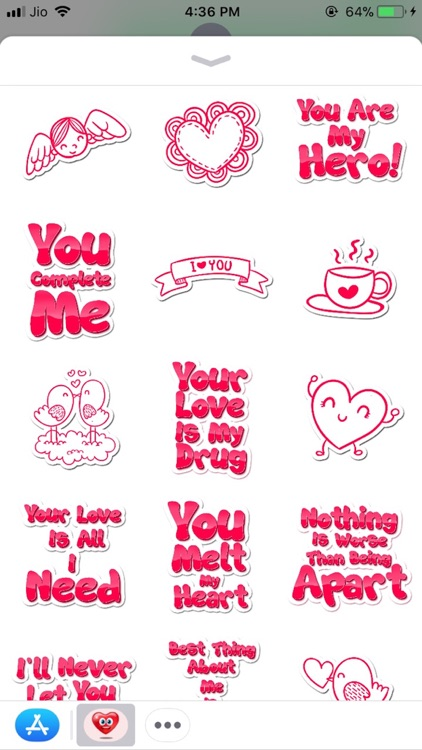 Valentine Love Sticker screenshot-3