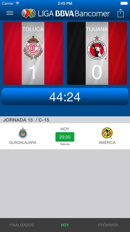 Liga Bancomer MX App Oficial screenshot-4