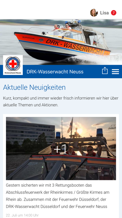 DRK-Wasserwacht Neuss screenshot 1