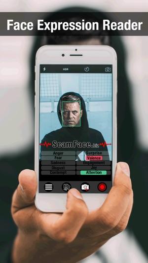 Scam face - emotion reader