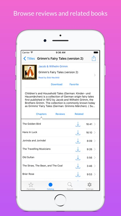 Screenshot for LibriVox Audio Books in United States App Store