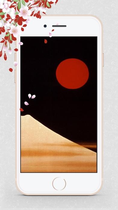 浮世絵壁紙 - 美しい日本画ギャラリーのおすすめ画像9