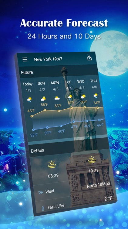 Weather Expert Pro - Live Climate Forecast Radar screenshot-3