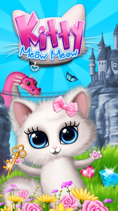 Kitty Meow Meow My Cute Cat screenshot 1
