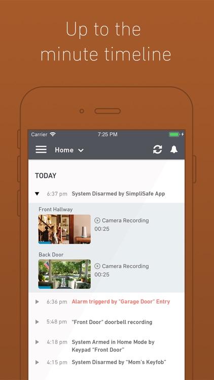 SimpliSafe Home Security App screenshot-4