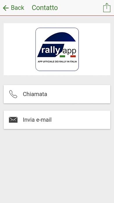 Rally App Italia screenshot two
