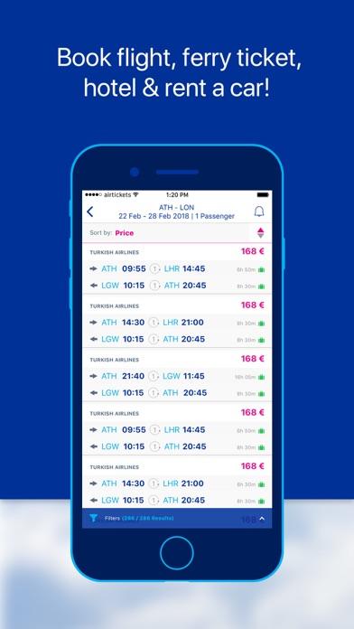 airtickets - A world to share screenshot three