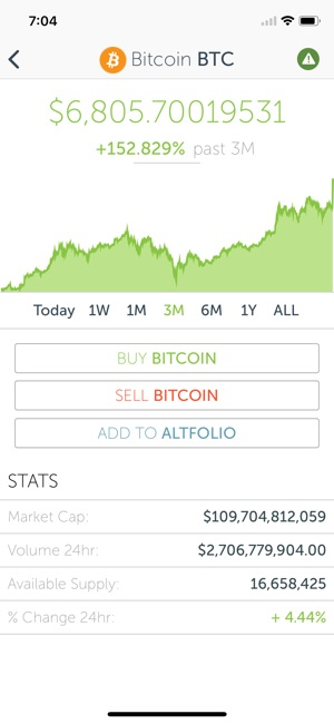 CoinCap Screenshot