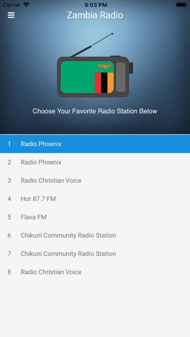 Zambia Radio Station FM Live screenshot one